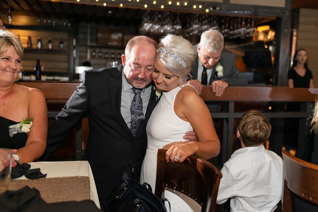 A classic American wedding