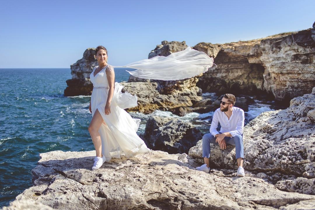 Trash the dress in Bulgaria cu Alina si Bobi
